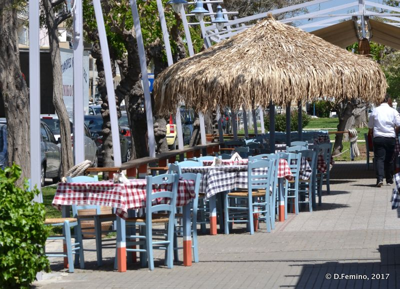 Greek restaurant (Alexandroupoli, Greece, 2017)