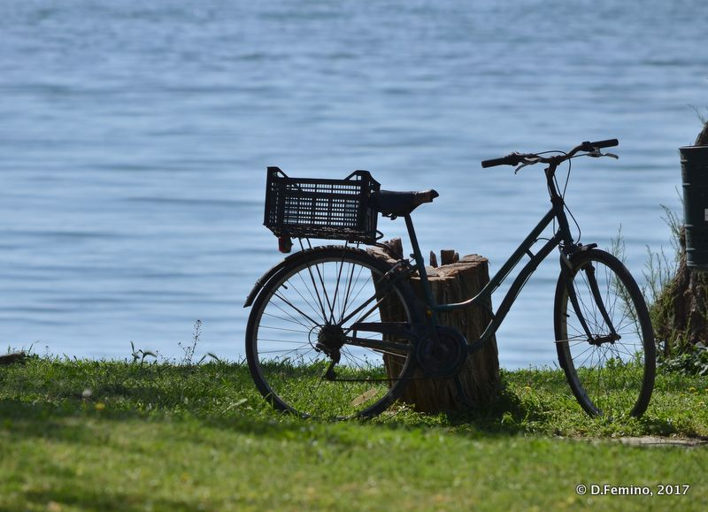 Bike by the river (Alexandroupoli, Greece, 2017)
