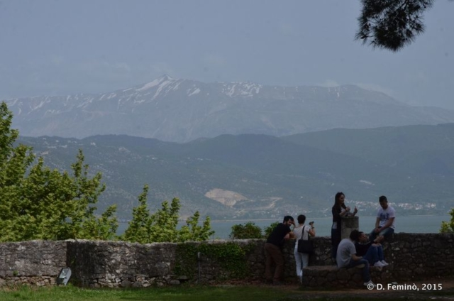 View from the town (Ioannina, Greece, 2017)