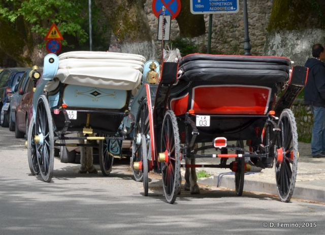 Old cart (Ioannina, Greece, 2017)