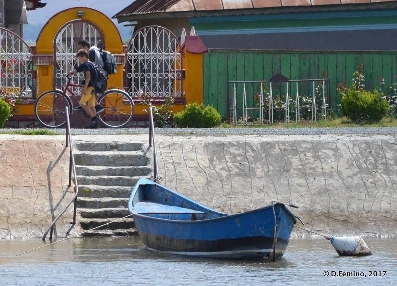 Moored boat (Danube Delta, Romania, 2017)