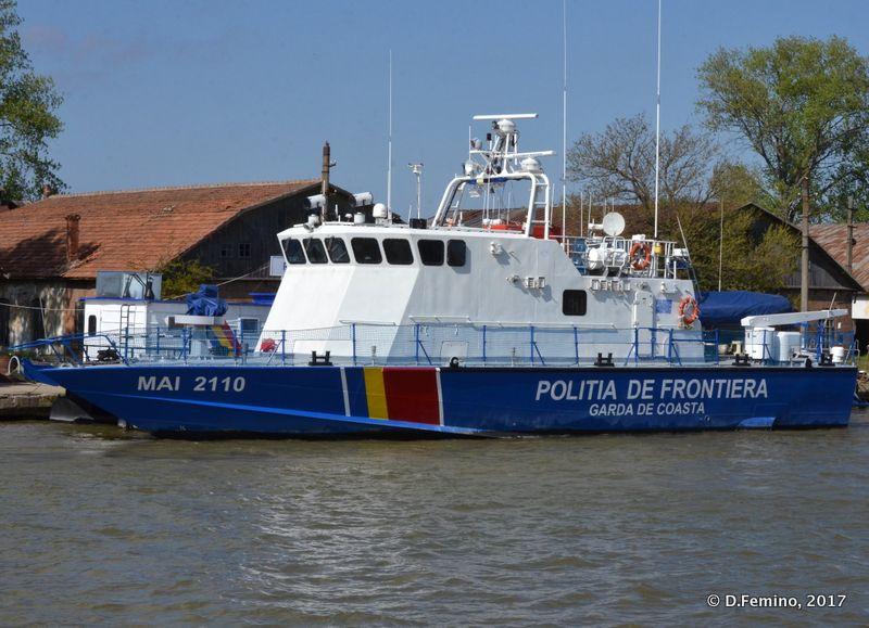Coast guard boat (Sulina, Romania, 2017)