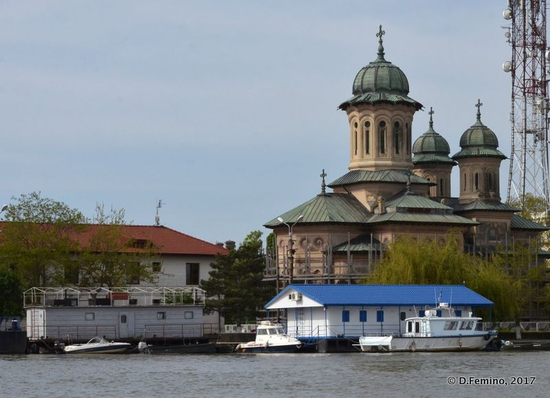 Orthodox Cathedral by the danube (Sulina, Romania, 2017)