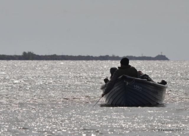 Backlight boat (Danube Delta, Romania, 2017)