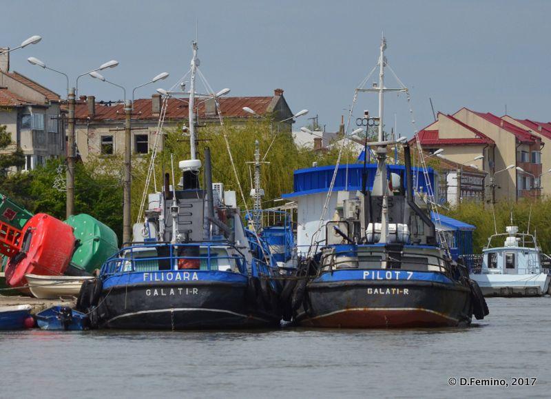 Fishing boats (Sulina, Romania, 2017)