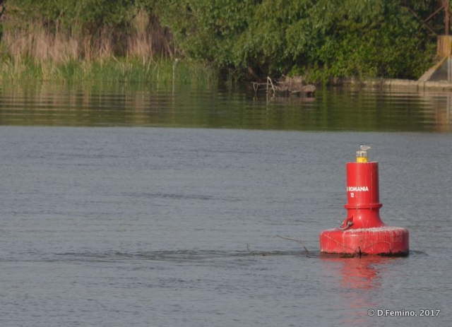 Red buoy (Danube Delta, Romania, 2017)