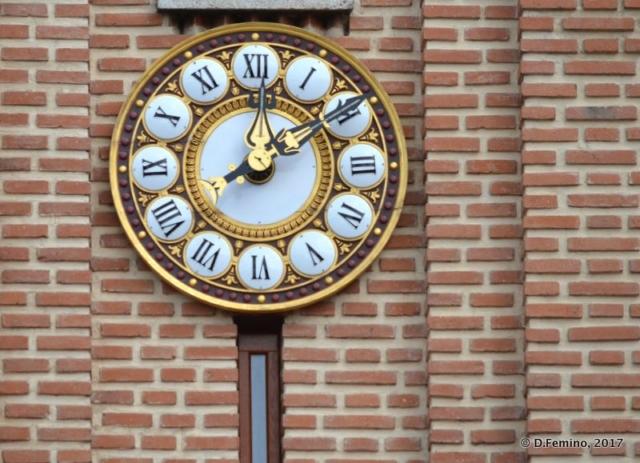 Big clock (Bucharest, Romania, 2017)
