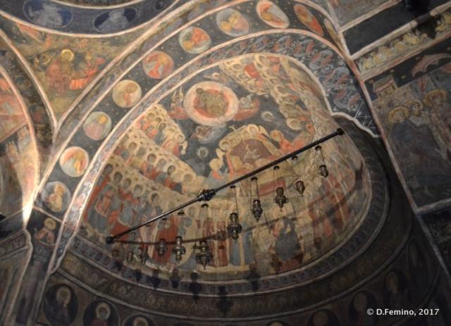 Fresco in Kretzulescu church (Bucharest, Romania, 2017)Fresco in Kretzulescu church (Bucharest, Romania, 2017)