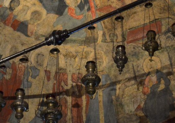 Frescos in Kretzulescu church un Bucharest
