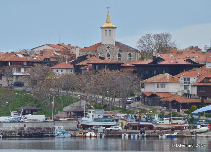 View of old town (Nesebar, Bulgaria, 2017)