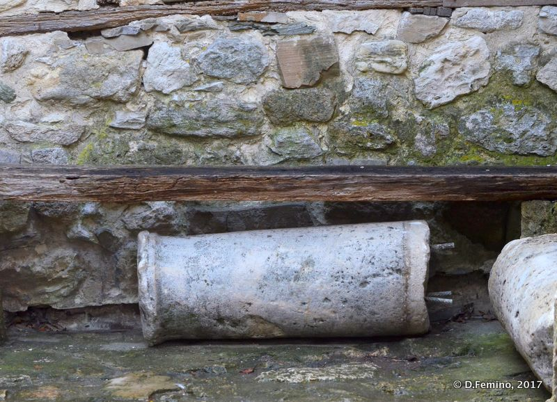 Roman column (Nesebar, Bulgaria, 2017)