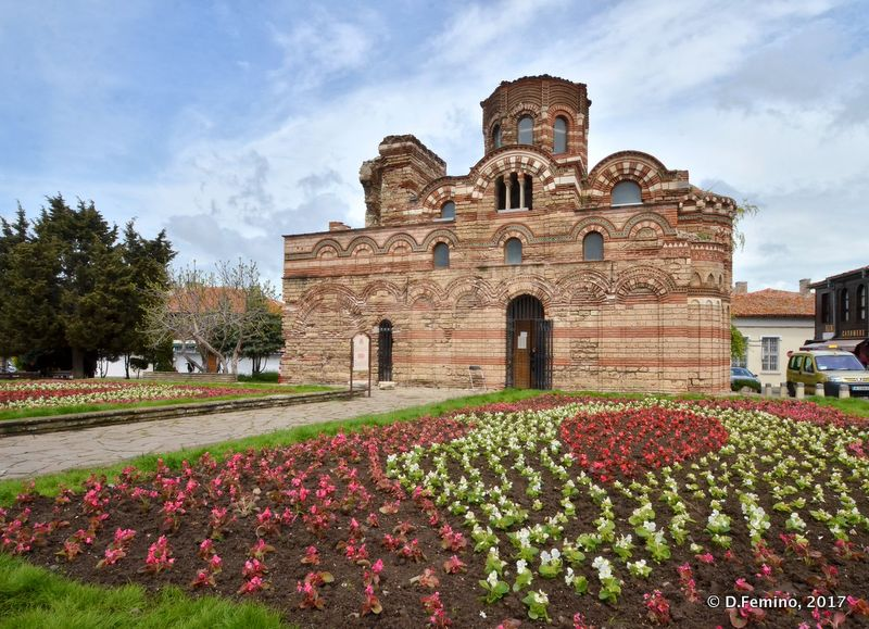 Church of Christ Pantocrator (Nesebar, Bulgaria, 2017)