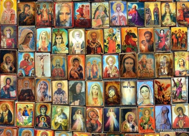Holy images (Nesebar, Bulgaria, 2017)