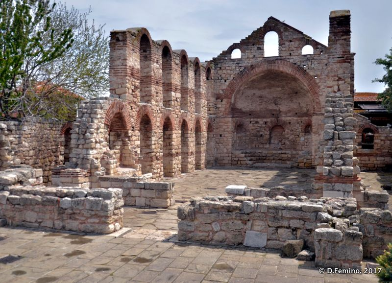 Church of Saint Sophia (Nesebar, Bulgaria, 2017)