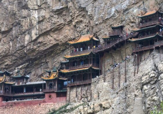 Hanging temple near Datong