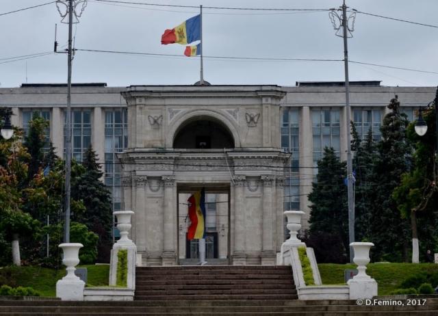 View of the centre (Chișinău, Moldova, 2017)