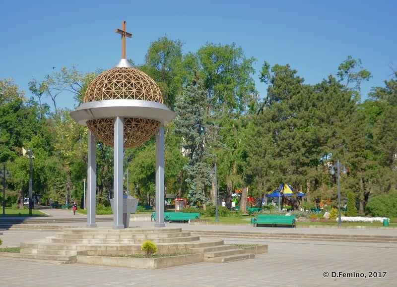 Cathedral park (Chișinău, Moldova, 2017)
