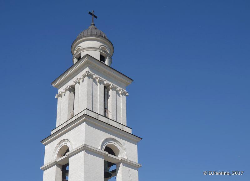 Bell tower (Chișinău, Moldova, 2017)