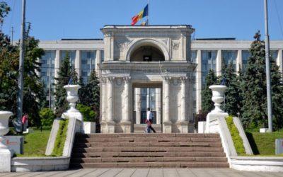 Triumphal arch in Chișinău