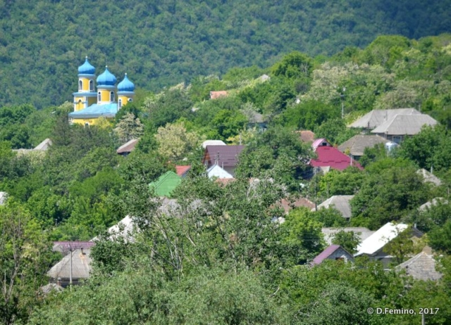 View of the village (Butuceny, Moldova, 2017)