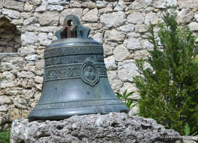 A bell in the monastery (Orheiul Vechi, Moldova, 2017)