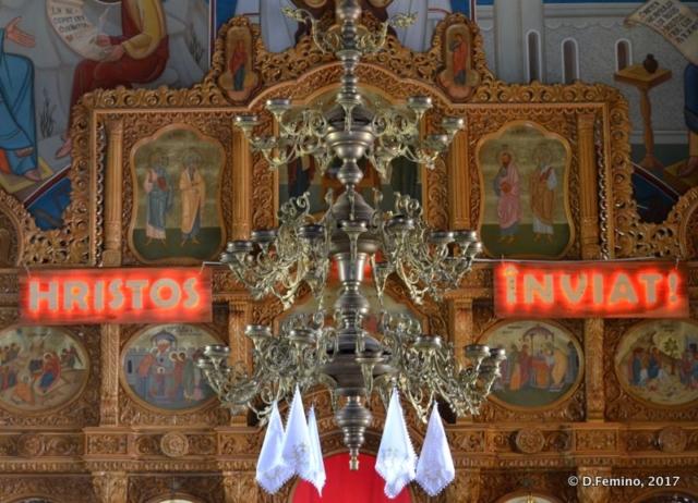 Altar (Orheiul Vechi, Moldova, 2017)