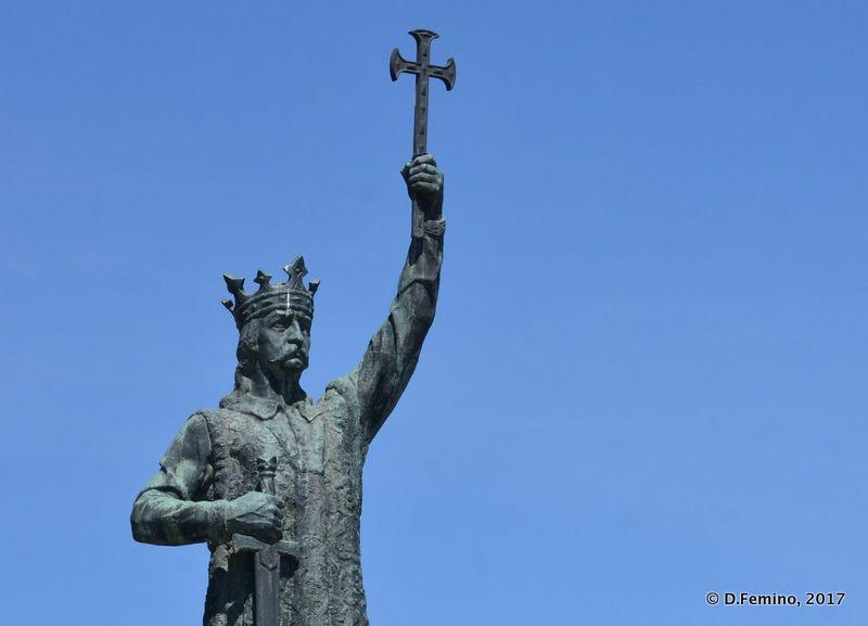 Statue of Stephan the great (Chișinău, Moldova, 2017)