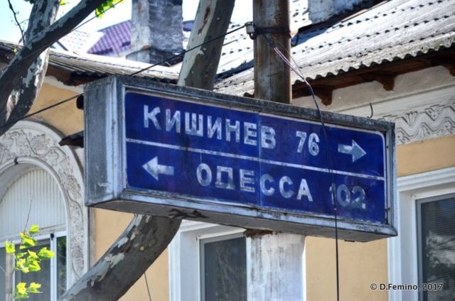 Between Moldova and Ukraine (Tiraspol, Trasnistria, 2017)