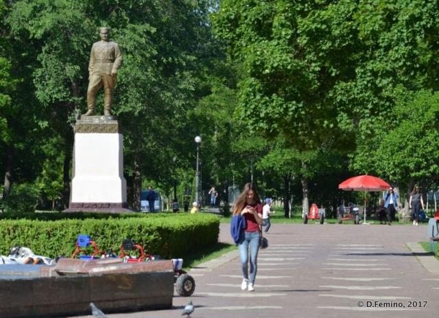 Park Pobedy (Tiraspol, Trasnistria, 2017)