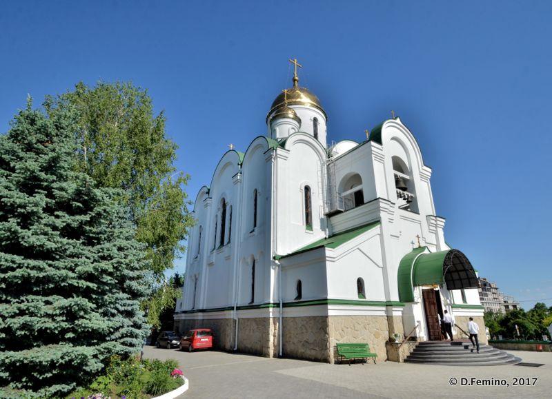 Cathedral (Tiraspol, Trasnistria, 2017)