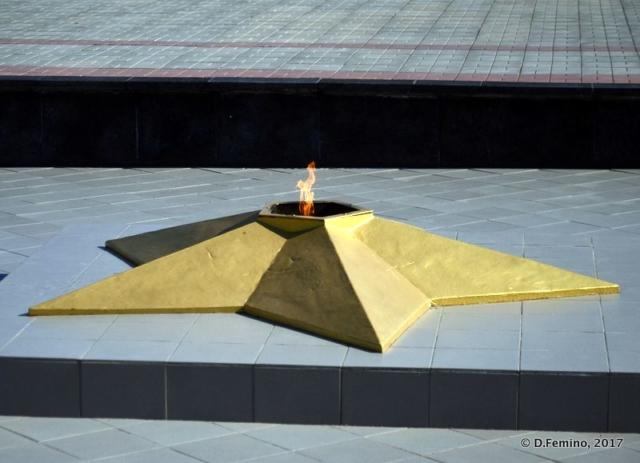 War memorial (Tiraspol, Trasnistria, 2017)