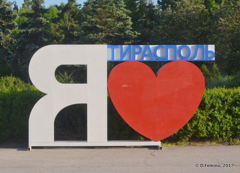 I love Tiraspol (Tiraspol, Trasnistria, 2017)