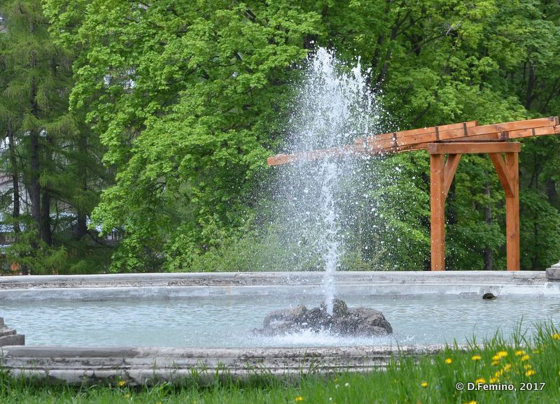 Fountain (Cantacuzino Castle, Romania, 2017)