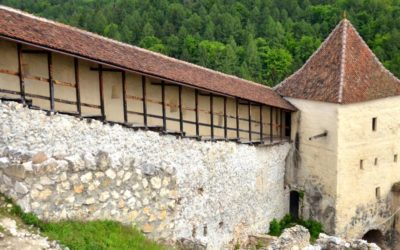 Walls of Râșnov citadel