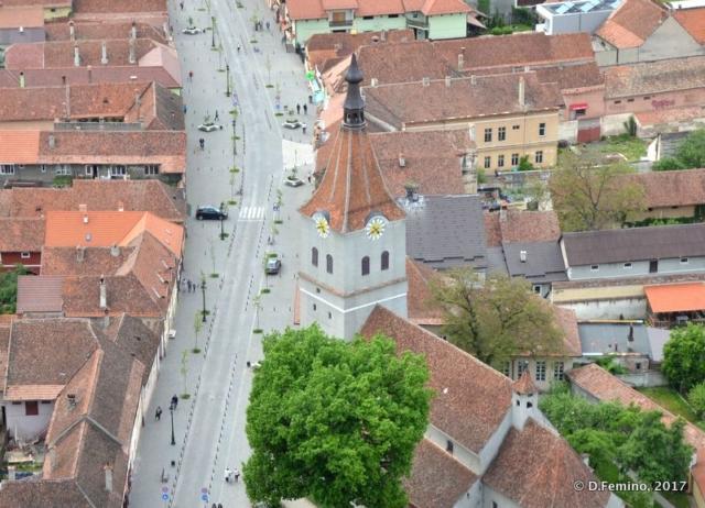 Main street (Râșnov, Romania, 2017)