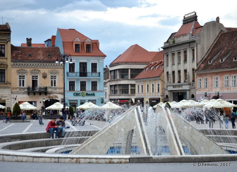Piața Sfatului (Brașov, Romania, 2017)
