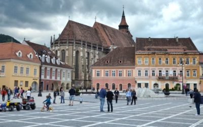 Main square in Brașov