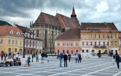 Main square in Brașov