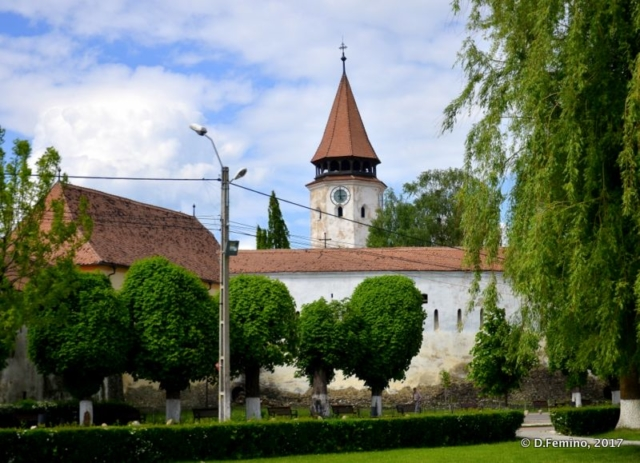 Fortified church (Prejmer, Romania, 2017)