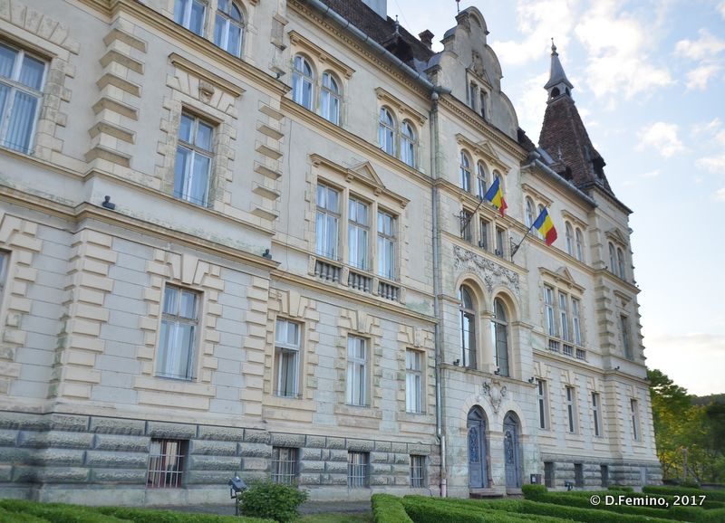 City hall (Sighișoara, Romania, 2017)