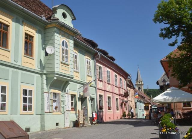 Strada Bastionolui (Sighișoara, Romania, 2017)