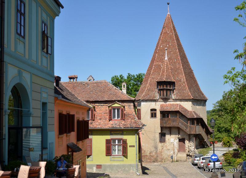 Turnul Cizmarilor (Sighișoara, Romania, 2017)
