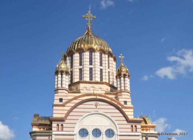 Dome of Orthodox Cathedral (Făgăraș, Romania, 2017)