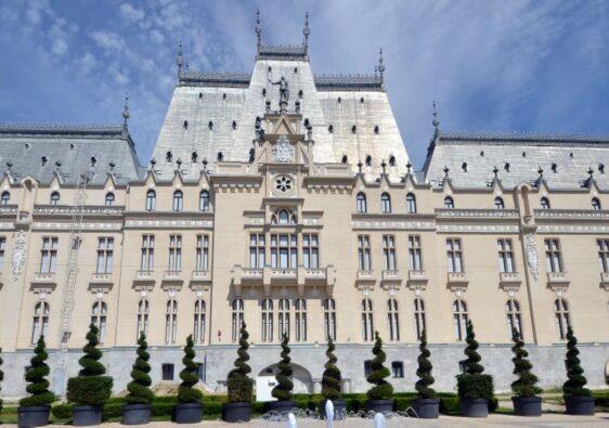 Palace of culture in Iași