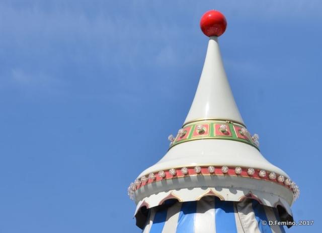 Head of a carousel (Iași, Romania, 2017)
