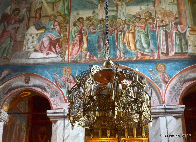 Interiors of Golia monastery (Iași, Romania, 2017)