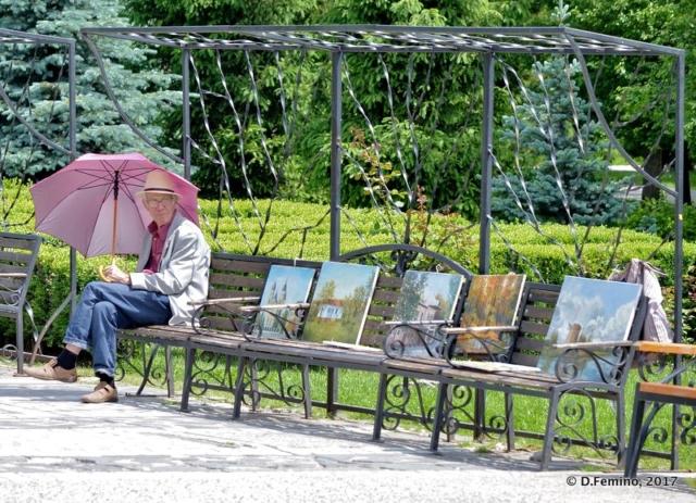 Chatting with art (Iași, Romania, 2017)