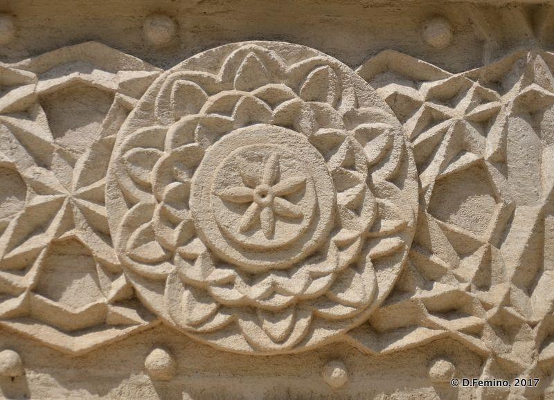 Detail in Mănăstirea Sfinții Trei Ierarhi (Iași, Romania, 2017)