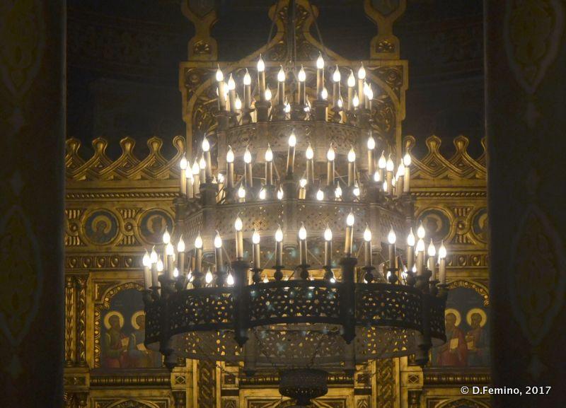 Mănăstirea Sfinții Trei Ierarhi altar (Iași, Romania, 2017)