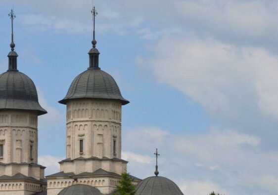 Domes of Cetățuia monastery in Iași